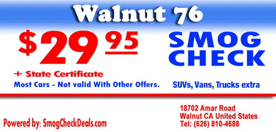 29 95 Smog Check In Walnut Print Our Smog Test Coupon